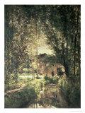 Landscape Giclee Print by Charles-Francois Daubigny