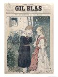 Illustration from Poil de Carotte by Jules Renard Giclee Print by Théophile Alexandre Steinlen