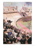 The Berlin Olympic Games, from Berliner Illustrite Zeitung, 1936 Giclee Print