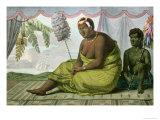 Ka'ahumanu, Queen of the Sandwich Islands Giclee Print by Ludwig Choris
