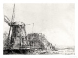 The Mill, 1641 Giclee Print by Rembrandt van Rijn