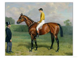 Ormonde, Winner of the 1886 Derby, 1886 Giclee Print by Emil Adam