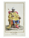 Don Alvares, King of the Congo, Receuil Des Estampes, c.1780 Giclee Print by Pierre Duflos