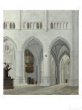 Interior of the Church of St. Bavo, Haarlem, 1630 Giclee Print by Pieter Jansz Saenredam