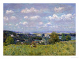 The Valley of the Seine at Saint-Cloud, 1875 Giclee Print by Alfred Sisley