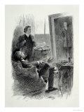 Illustration from The Picture of Dorian Gray by Oscar Wilde Giclee Print by Paul Thiriat