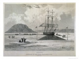 Departure of the Boats from Hecla Cove, c.1827 Giclee Print by Captain George Francis Lyon