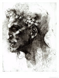 Head of a Satyr Giclee Print by  Michelangelo Buonarroti