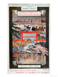 Poster Advertising the Trans Siberian Railway, Winter 1907-8 Giclee Print
