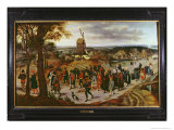 The Wedding Procession Giclee Print by Pieter Brueghel the Younger