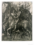 The Knight, Death and the Devil, 1513 Giclee Print by Albrecht D&#252;rer