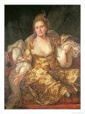 Annette, Comtesse de Vergennes in Oriental Costume, 1766 Giclee Print by Antoine de Favray