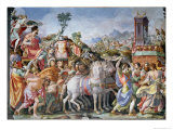 The Triumph of Marcus Furius Camillus Giclee Print by Francesco Salviati
