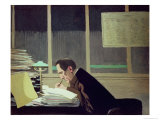 Felix Feneon Giclee Print by Felix Vallotton