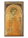 Female Saint, Possibly St. Margaret, 1320-29 Gicle-tryk af Pietro Lorenzetti