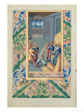 David Being Sent to Saul, from the Book of Hours of Louis D'Orleans, c.1469 Giclee Print by Jean Colombe