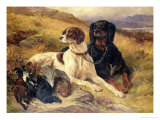 Serving the Guns Giclee Print by Edwin Henry Landseer