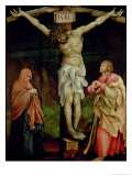 The Crucifixion, c.1525 Giclee Print by Mathias Grunewald