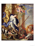 Ceres Vanquishing the Attributes of War Giclee Print by Simon Vouet