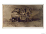 The House of William Shakespeare Giclee Print by Victor Hugo