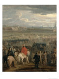 Surrender of the Citadel of Cambrai, 18th April 1677, c.1678 Giclee Print by Adam Frans van der Meulen
