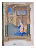 Annunciation, from Book of Hours of Louis D'Orleans, c.1490 Giclee Print by Jean Colombe
