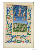 Resurrection of the Saved, from the Book of Hours of Louis D'Orleans, 1469 Giclee Print by Jean Colombe