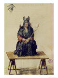 Punishment of a Sorceress Reproduction proc&#233;d&#233; gicl&#233;e par Jan van Grevenbroeck