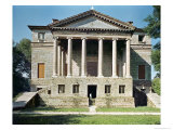 View of the Principal Facade, Built in 1559-60 Giclee Print by Andrea Palladio