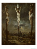 Calvary (fresco) Gicl&#233;e-Druck von David Teniers the Younger