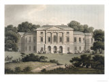 Lord Sidmouth's, in Richmond Park, Fragments on the Theory and Practice of Landscape Gardening Giclee Print by Humphry Repton