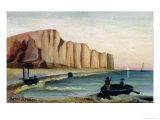 Cliffs, c.1897 Giclee Print by Henri Rousseau