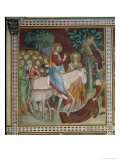 The Entry of Christ Into Jerusalem, from a Series of Scenes of the New Testament Giclee Print by Barna Da Siena