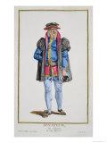 Senator of Koln, Receuil Des Estampes, c.1780 Giclee Print by Pierre Duflos