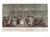 The Palais Royal Gallery's Walk, 1787 Giclee Print by Philibert-Louis Debucourt