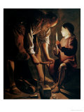 St. Joseph, the Carpenter Giclee Print by Georges de La Tour