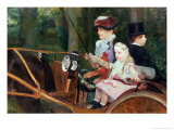 Woman and Child in the Driving Seat, 1881 Giclee Print by Mary Cassatt