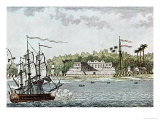 The Town of St. Louis, Senegal, from L'Afrique, c.1814 Giclee Print