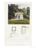 Ice House, from Ackermanns Repository of Arts, Published 1817 Giclee Print by John Buonarotti Papworth