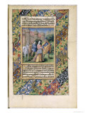 Scene from the Hours of Louis D'Orleans, c.1469 Giclee Print by Jean Colombe