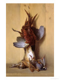 Still Life with a Hare, a Pheasant and a Red Partridge, 1753 Giclee Print by Jean-Baptiste Oudry