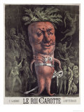 Poster For Le Roi Carotte, an Operetta by Jacques Offenbach Giclee Print by Henri Meyer