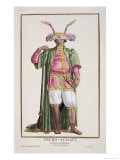 Truro-Audaty, King of Dahomey, Receuil Des Estampes, c.1780 Giclee Print by Pierre Duflos