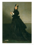 The Woman with the Glove, 1869 Giclee Print by Charles Émile Carolus-Duran