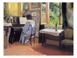 Lady at the Piano, 1904 Giclee Print by Felix Vallotton