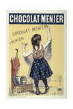 Poster Advertising Chocolat Menier, 1893 Giclee Print by Firmin Bouisset
