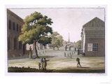 Market Square, Philadelphia, Pennsylvania, Le Costume Ancien ou Moderne, c.1820-30 Giclee Print by Paolo Fumagalli