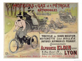 Poster Advertising a Parisian Car Dealer Giclee Print by Henri Gray