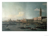 The Basin of San Marco on Ascension Day, c.1740 Giclee Print by  Canaletto