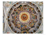 The Concert of Angels, from the Dome, 1534-35 Giclee Print by Gaudenzio Ferrari
